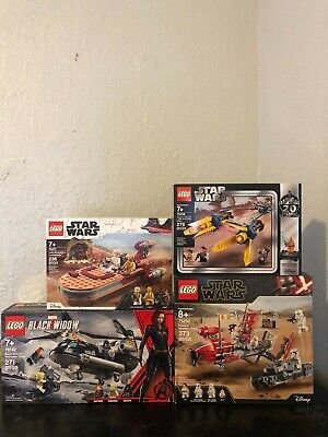 Lego Star Wars lot of 4: 75271, 76162, 75258, 75250 *BRAND NEW*
