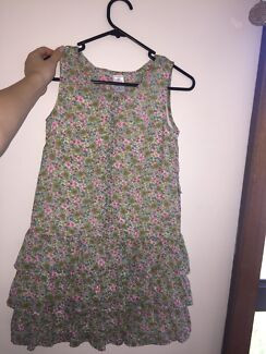 Spring dress OUTDOOR GOING OUT DRESS FOR KIDS SIZE 12 TARGET FLORAL