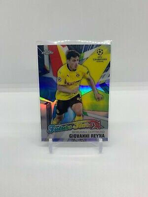2020-21 Topps Chrome Champions League Future Stars Giovanni Reyna Dortmund