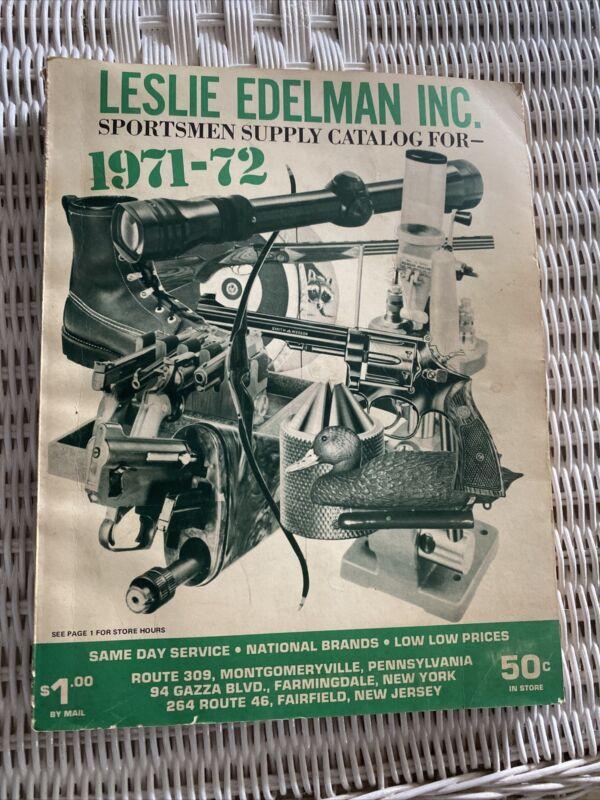 1971-72 Leslie Edelman Sportsman Supply Catalog-Includes 71 Bear Archery Insert