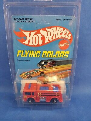 Hot Wheels Fire-Eater On Flying Colors Card HK Base.