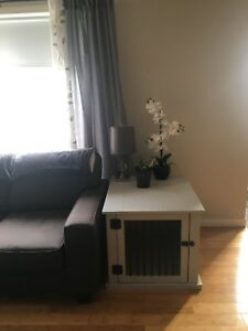 1 Grey Kennel/ End Table