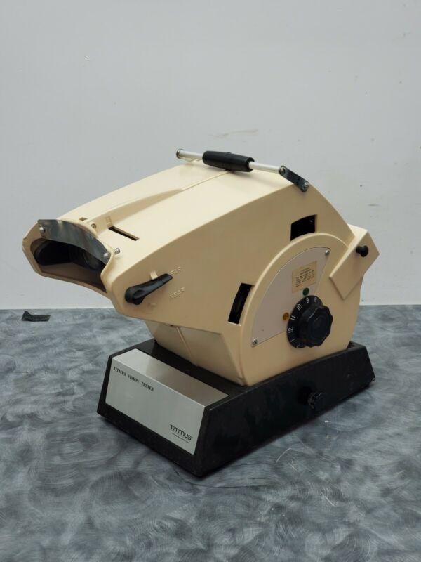 Titmus OV-7MEye Vision Tester Screener with Slides