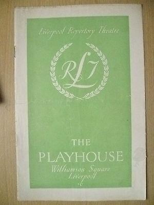 Playhouse Liverpool Progr 1948- E Berry,J Flaxman,C Luckham in TARTUFFE-Moliere