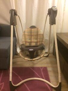 Balançoire Graco chaise berçante bébé