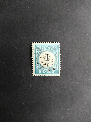 Netherlands - Postage due 1881 - 1 ct - P3A (type III) - very fine used stamp