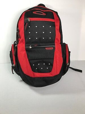 Oakley Hydrofuse Backpack Book bag Red Black