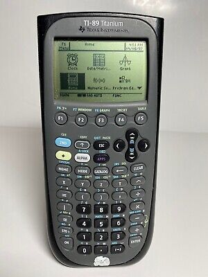 Texas Instruments Ti-89 Titanium Graphing Calculator - Black