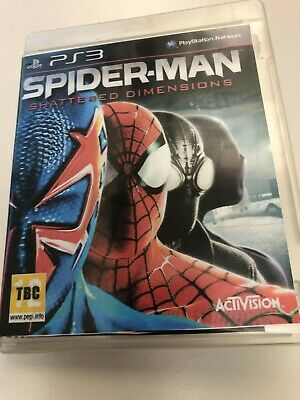 Spider-Man: Shattered Dimensions (Sony PlayStation 3, 2010) PS3 Disc Only TESTED