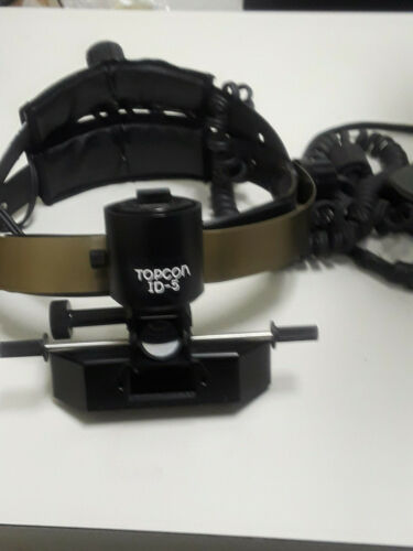 ( 1 DAY BLOWOUT SALE) TOPCON  ID-5 OPTHALMOSCOPE HEAD SET