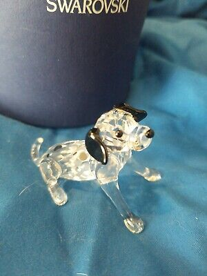 SWAROVSKI DALMATIAN PUPPY, SITTING RETIRED 2008 MIB #628909
