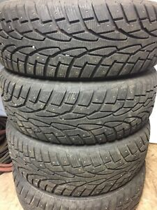 225/65R16 studded winter tires