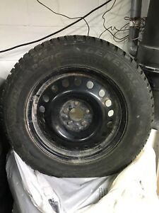 4 General Altimax Arctic Winter tires with Rims
