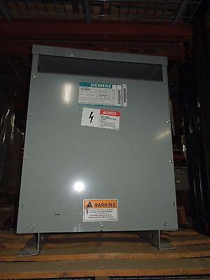 Siemens 112.5kva 480-208y120v 3ph Dry Type Transformer K-4 Used Electrically Ok