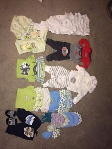 Newborn and 3month Boy Clothes