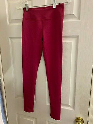 FABLETICS High-Waisted Power Hold Yoga Leggings in Raspberry -  Women's Size XS