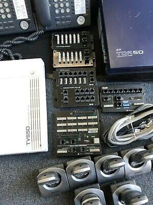 Panasonic Kx-tda50 Hybrid Ip-pbx Voip Phone System Equipment Functional Read