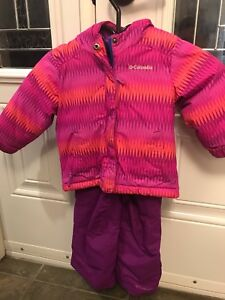 2T Columbia girls snowsuit