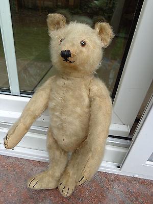 Vintage Steiff teddy bear Wilson dated about 1930 hump back antique teddy CUTE