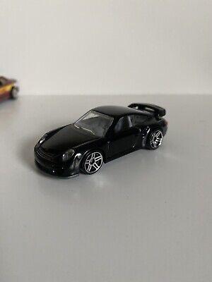 Hot Wheels Porsche 911 GT2 Black 2010 Loose Rare