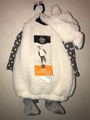 baby LAMB HALLOWEEN COSTUME 0/6 month NEW NWT boys girls COMPLETE BOOTIES TOP BO - Top Baby Boy Halloween Costumes