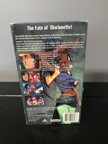 Saber Marionette J Again - Time Of The Heart s Awakening VHS, 1999 Sealed  - $49.99