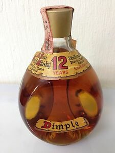 "WHISKY DIMPLE 12 YEARS DE LUXE SCOTCH WHISKY "" JOHN HAIG & CO. LTD Scozia - Italia - WHISKY DIMPLE 12 YEARS DE LUXE SCOTCH WHISKY "" JOHN HAIG & CO. LTD Scozia - Italia"