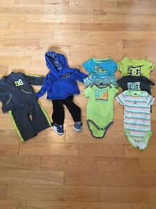 DC clothes toddler 3-6 months