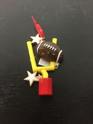 Football Personalized Christmas Ornament](Personalized Football Ornaments)