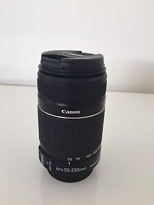 Canon EF-S 55-250mm Zoom Lens Wamberal Gosford Area Preview