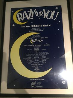 Crazy For You theatre poster