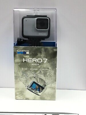 GoPro HERO7 Waterproof Digital Action Camera - White (CHDHB-601) NEW SEALED