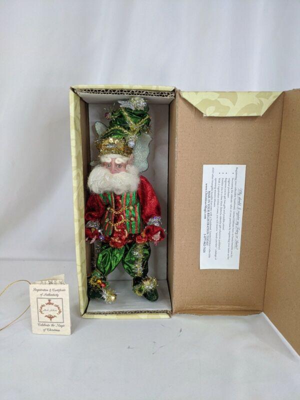 "Mark Roberts Christmas Tree Fairy w/ Original Box Small 12"" Xmas"