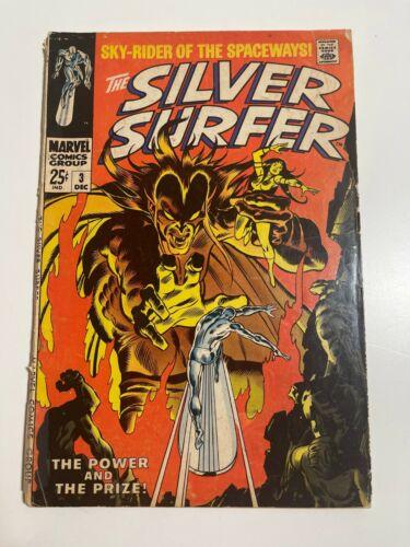 Silver Surfer 3 Marvel 1st Mephisto Silver key Stan Lee