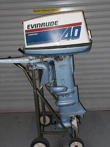 40HP Evinrude Outboard for Parts or Project Coffs Harbour Coffs Harbour City Preview