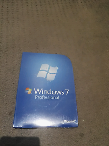 Microsoft Windows 7 Professional with DVD and Life Time Licence Parramatta Parramatta Area Preview