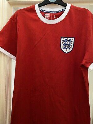 England Football Team Primark Large Red Tee Shirt Top