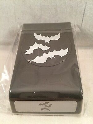SPOOKY BATS PUNCH Stampin Up New Halloween Moon