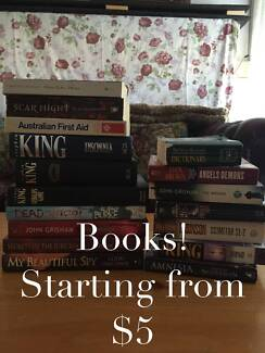 VARIOUS BOOKS (B10-B21) starting from $5! Lalor Whittlesea Area Preview