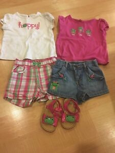 Gymboree Frog Outfit