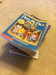"Authentic ""Pony Pals"" collection. Teen short novels"