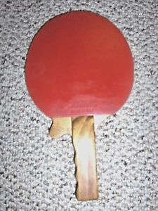 Bilroy Ping Pong Paddle With Trigger Custom Hand Made Usa Table Tennis