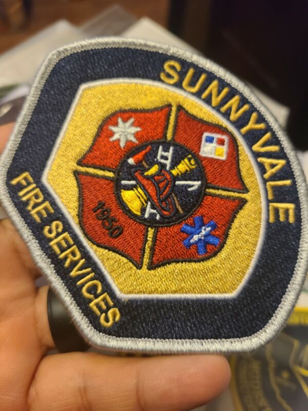 Sunnyvale Fire services patch, California