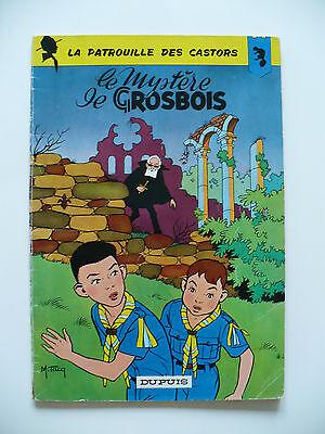 RE 1964 (très bel état) - La patrouille des Castors 1 (le mystère de Grosbois)