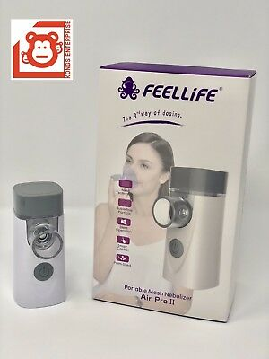 Feellife Portable Mesh Ultrasonic Nebulizer Air Pro Ii 1 Yr Factory Warranty