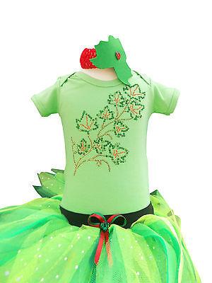Poison Ivy Tutu Set Baby Toddler Fancy Dress  Book Week Super Villain Hero Top](Poison Ivy Toddler Costume)