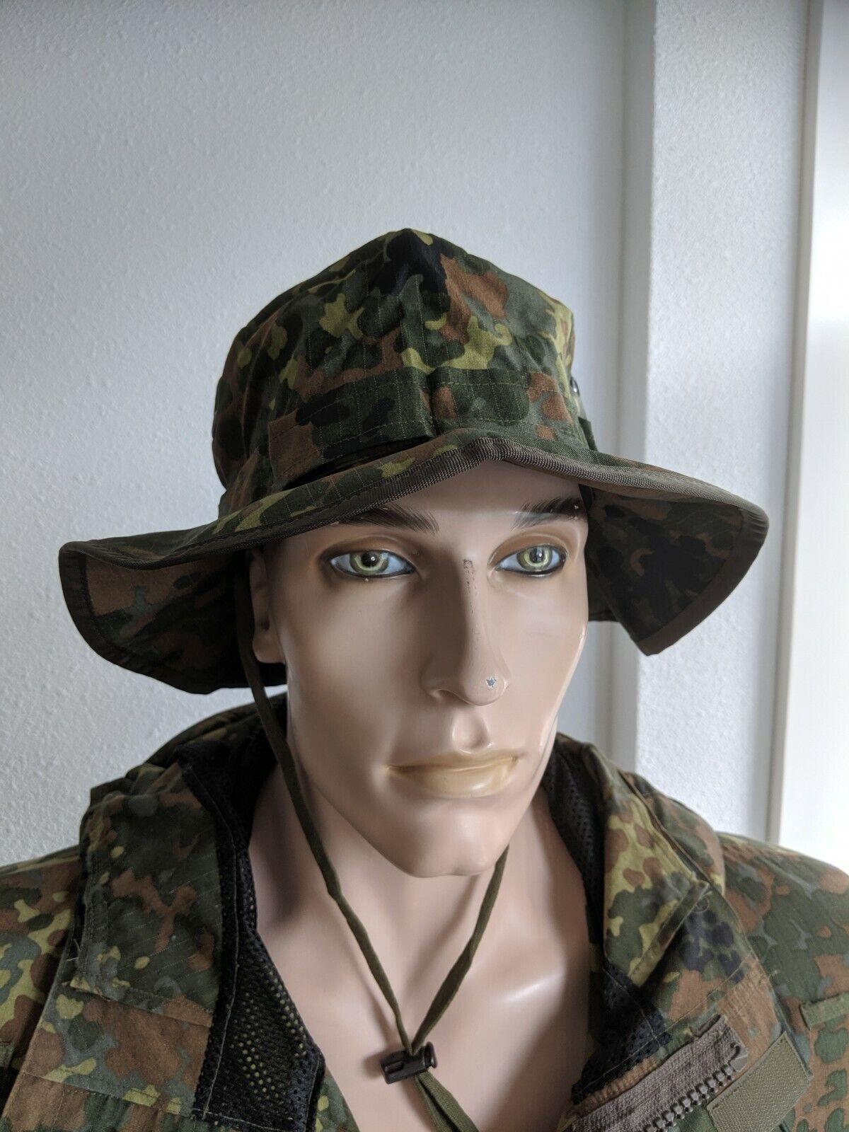 Sabre® Dschungelhut 5farb Flecktarn / Wüstentarn, Bundeswehr, Tropenhut, Boonie