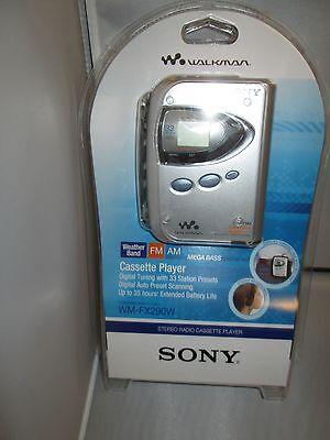 Sony WM-FX290W Walkman Digital Tuning FM/AM Stereo Cassette Player WMFX290W