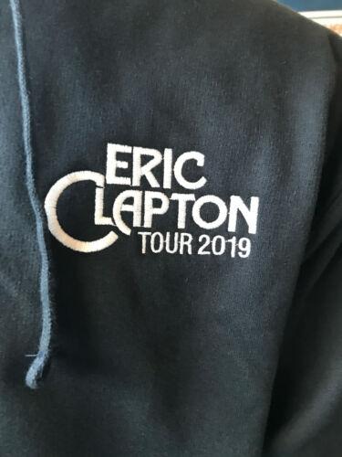 ERIC CLAPTON 2019 TOUR NAVY BLUE HOODIE