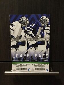 Toronto Maple Leafs Tickets vs NY Rangers - Dec 22